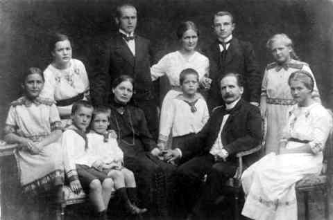 Familie Adolf Sellschopp